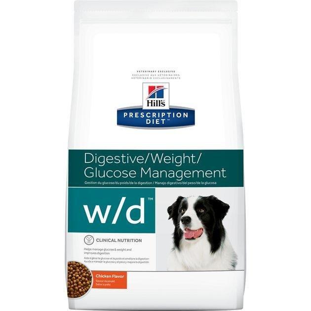 Hill's Prescription Diet W/d Digestive/ Weight/ Glucose Management Chicken Flavor Dry Dog Food