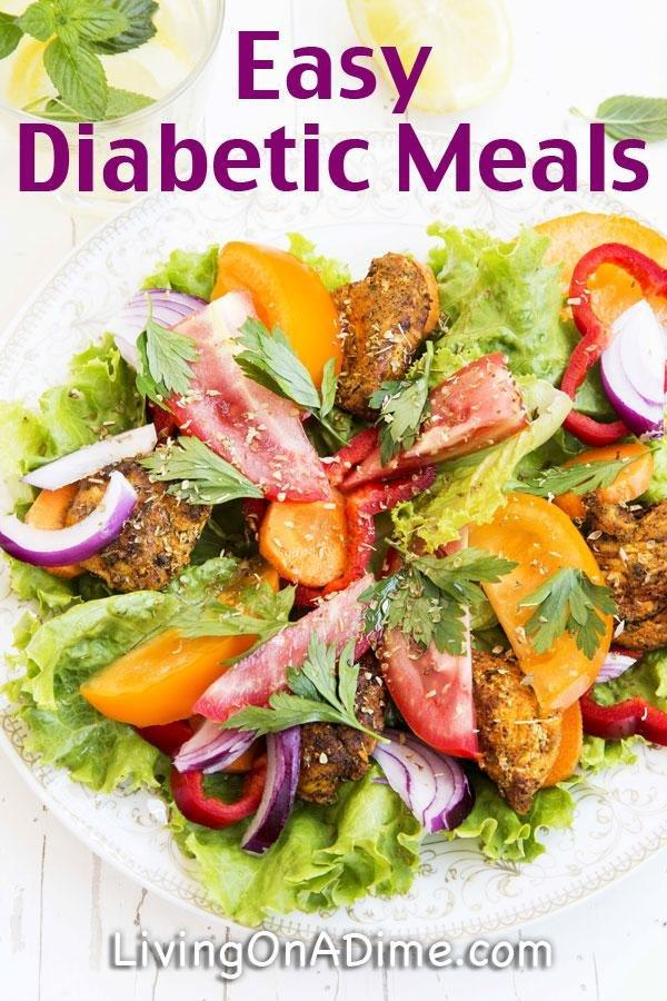 Easy Diabetic Meals For One
