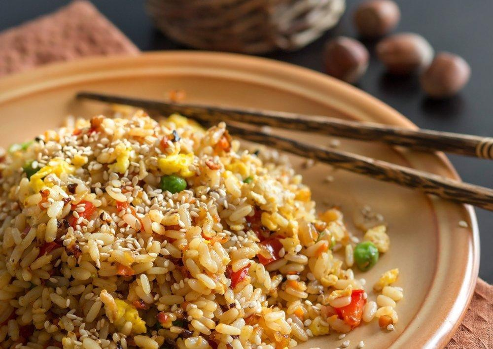 Diabetic Pork Fried Rice