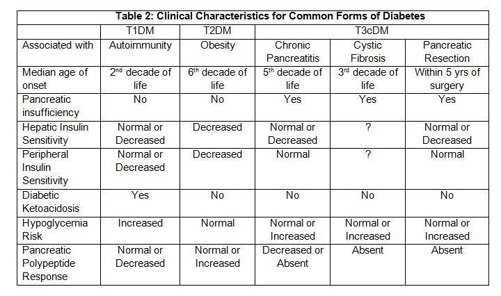 Pancreatitis Diabetes Symptoms