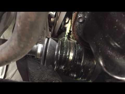 Leaking Water Pumps Caused By Incorrect Coolant