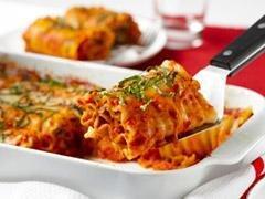 Diabetic Lasagna Roll Ups