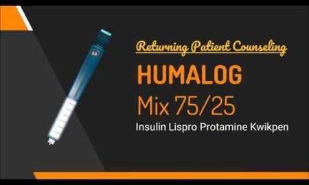 Side Effects Of Humalog Mix 75 25 Kwikpen