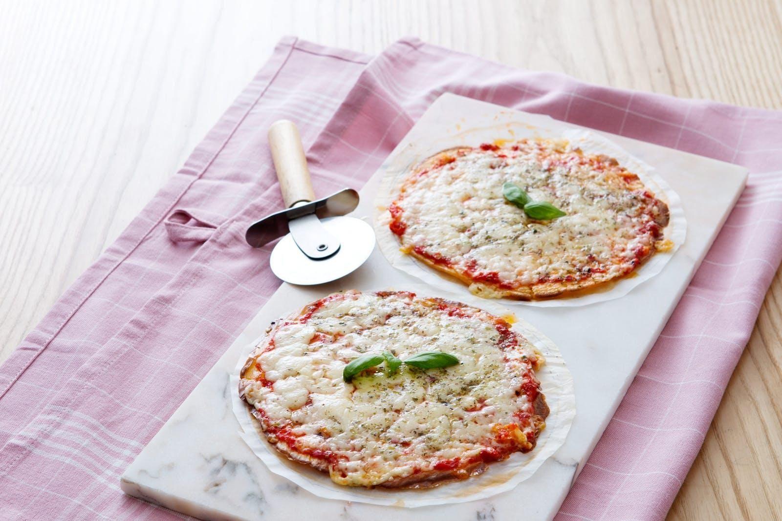 Diabetic Tortilla Pizza