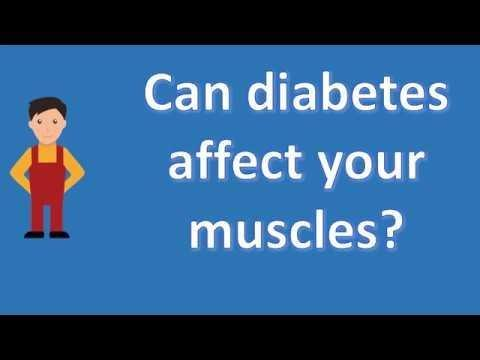 How Does Diabetes Affect The Muscles?