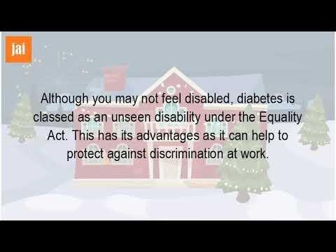 Is Diabetes Type 2 Covered By The Equality Act 2010