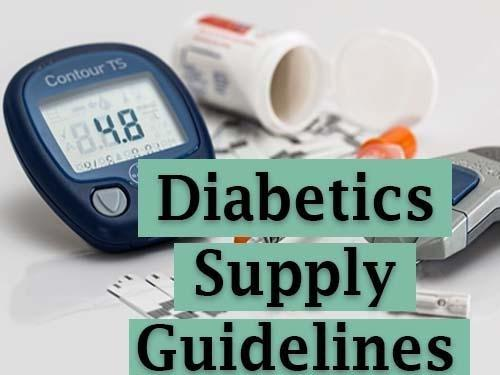Medicare Part B Diabetic Supplies Prescription Requirements