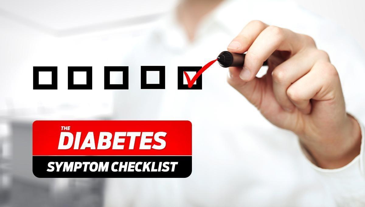 Diabetes Symptoms Checklist