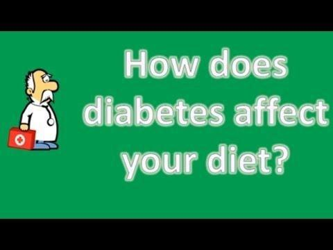 How Diabetes Is Related To Diet