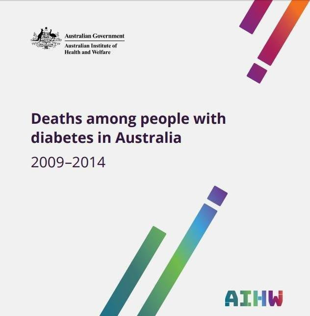Deaths among people with diabetes in Australia 2009–2014