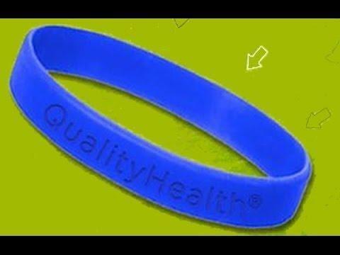 Free: Diabetes Awareness Bracelet Crystals Ribbon - Hematite Beads - Bracelets - Listia.com Auctions For Free Stuff