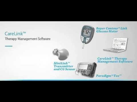 Podprn Software Carelink Personal - Medtronic Diabetes Esk Republika
