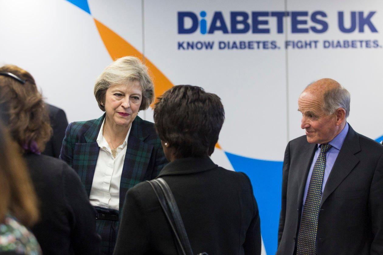 Theresa May Diabetes Diet