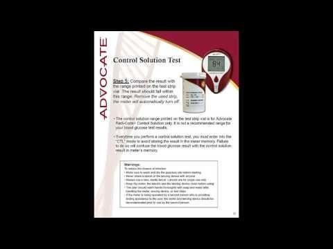 Glucose Meter Control Solution Expiration