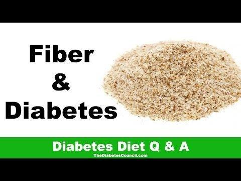 Is Dietary Fiber Good For Diabetes?