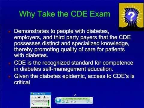 Certified Diabetes Educator Daily Activities