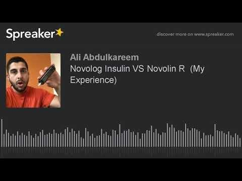 Is Novolin R Same As Novolog R?