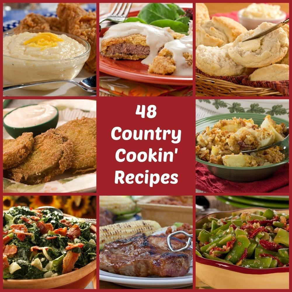 Country Cooking: 48 Best-loved Southern Comfort Recipes
