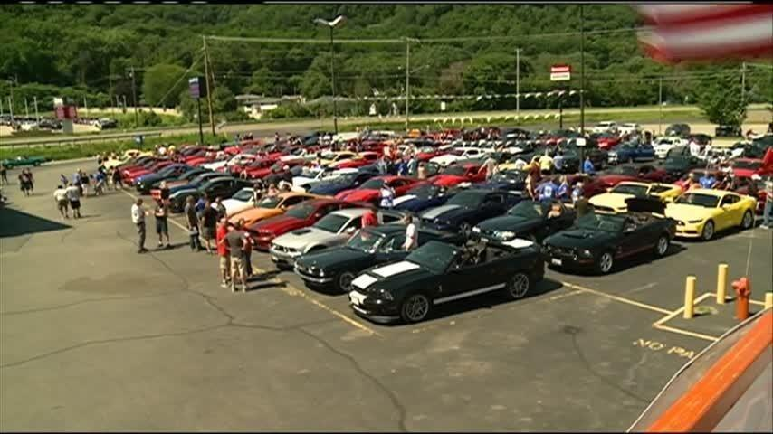 Ford Enthusiasts In Our Region Gathered For A Good Cause