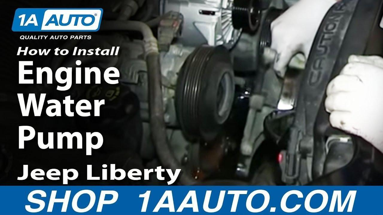 2012 Dodge Ram 1500 Water Pump Replacement