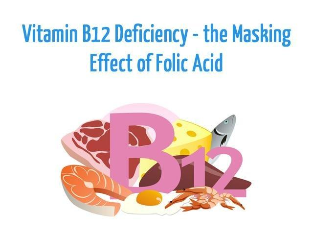 Vitamin B12 Deficiency The Masking Effect Of Folic Acid
