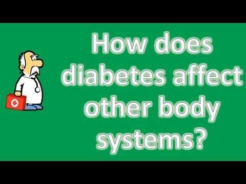 What Are The Long Term Effects Of Diabetes On The Body?