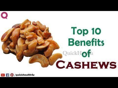 Cashews Help Treat Diabetes