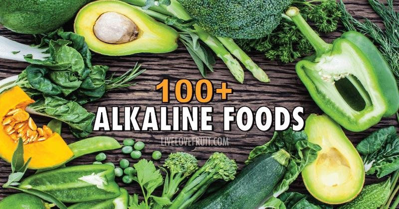 100+ Alkaline Foods That Fight Cancer, Inflammation, Diabetes and Heart Disease