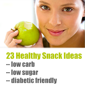 Low Carb Snacks Diabetics