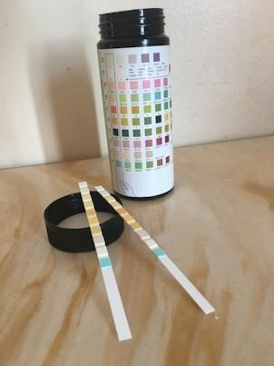 Home Urinalysis Test Strip Color Chart And Explanations