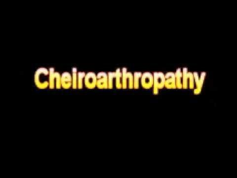 What Is Diabetic Cheiroarthropathy?