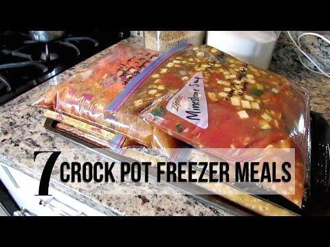 Diabetic Crockpot Freezer Meals