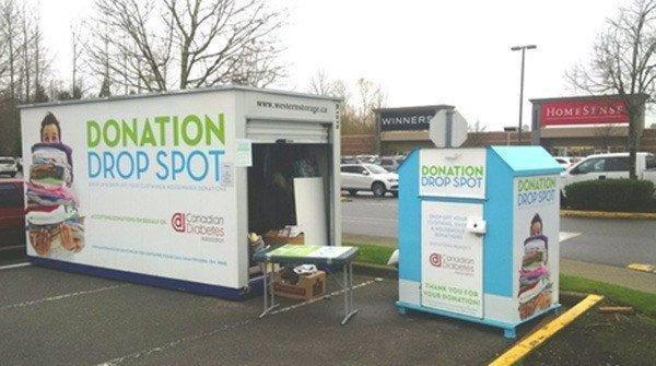 Diabetes Association Runs Donation Station In Abbotsford