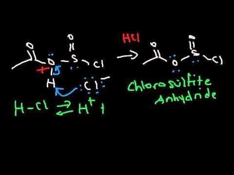 Acid Chloride To Ketone Mechanism