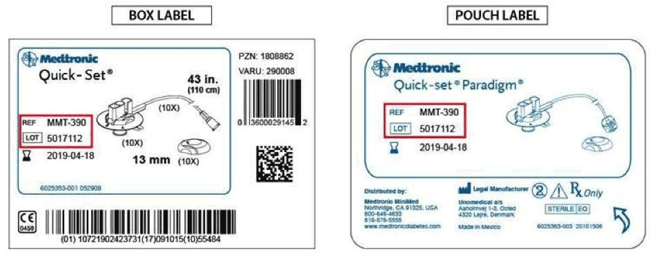Medtronic Insulin Pump Infusion Sets Recalled