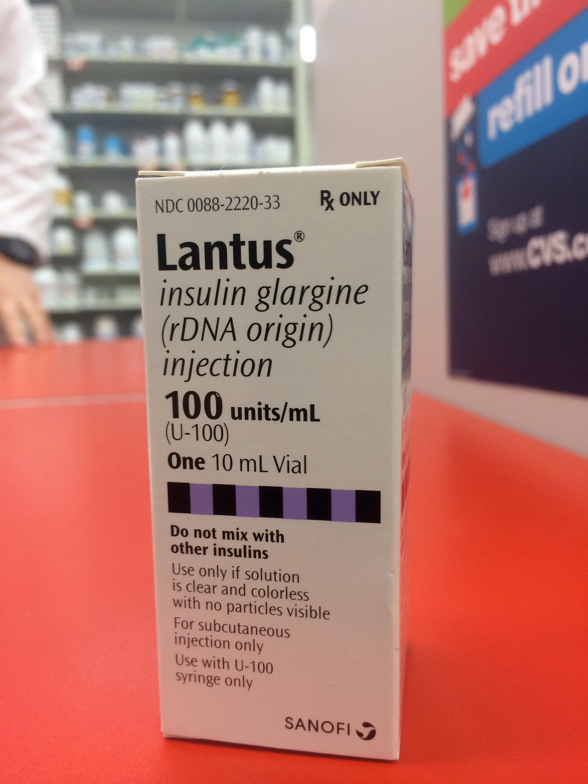 How Many Units Are In A Vial Of Lantus?