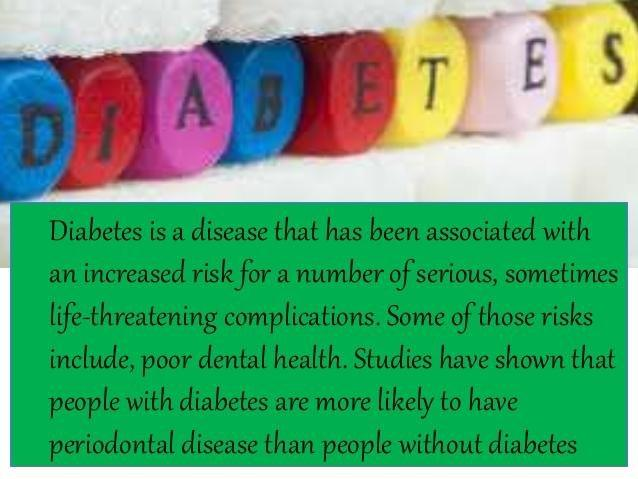 Diabetes And Periodontal Disease Slideshare