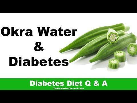 Okra Water And Diabetes