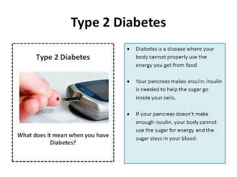 Complications Type 2 Diabetes