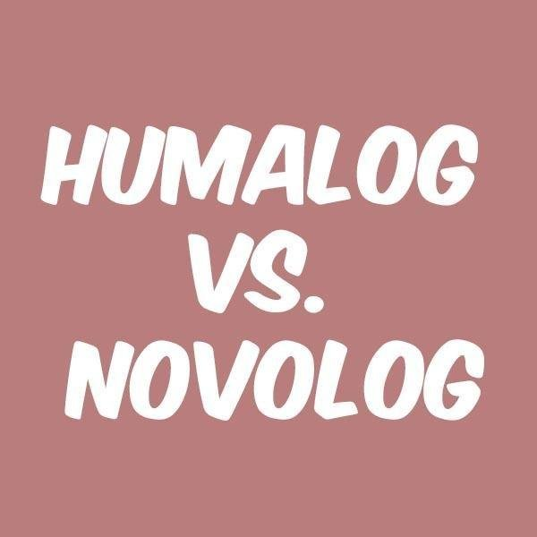 Humalog Vs. Novolog: What's The Difference?