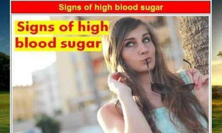 High Blood Sugar Emergency Symptoms