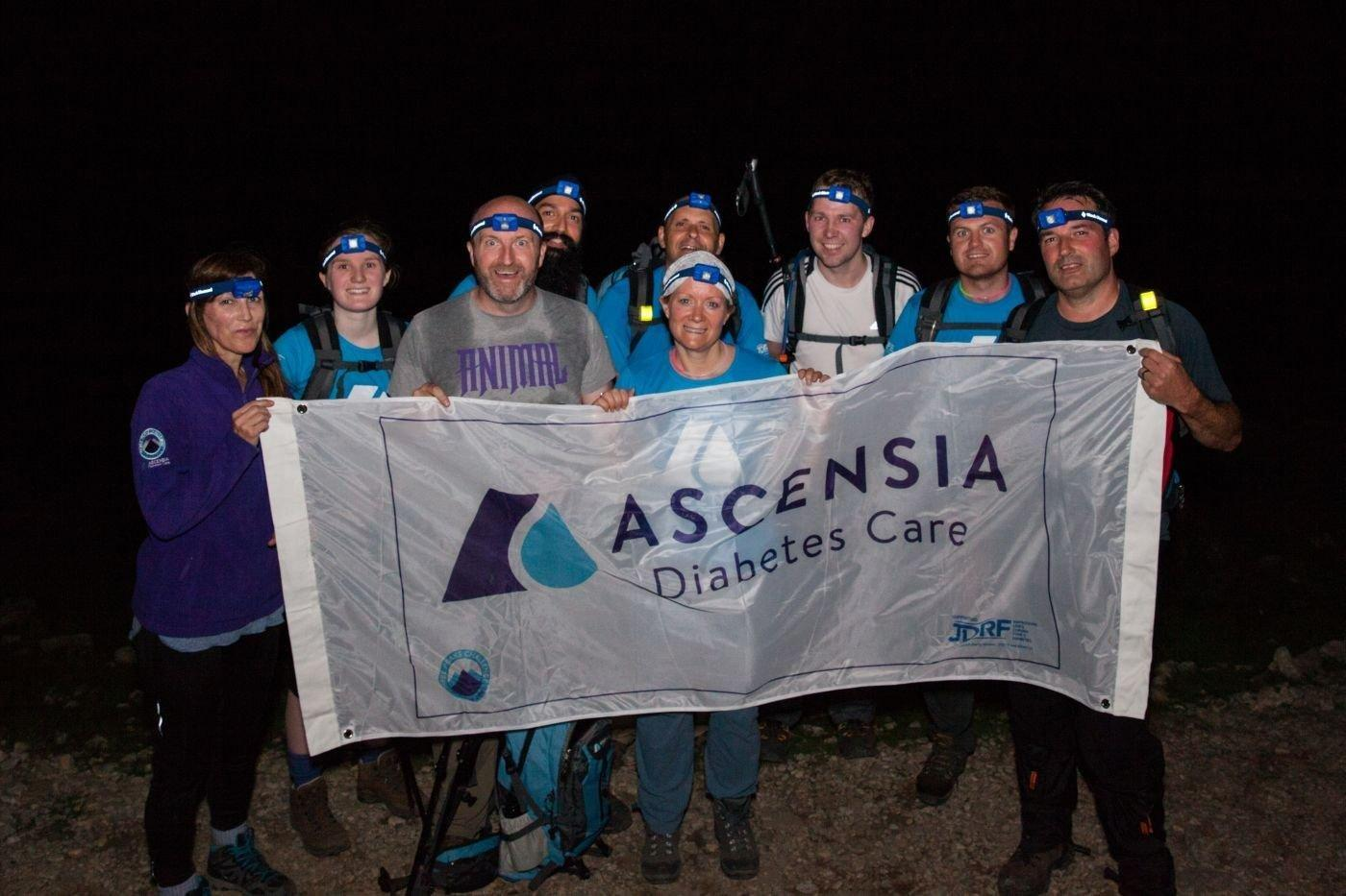 3 Peaks, 33 Participants 24 Hours: Ascensia Diabetes Care Staff Team Complete Three Peaks Challenge