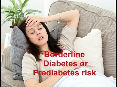 What Does It Mean To Be A Borderline Diabetic?