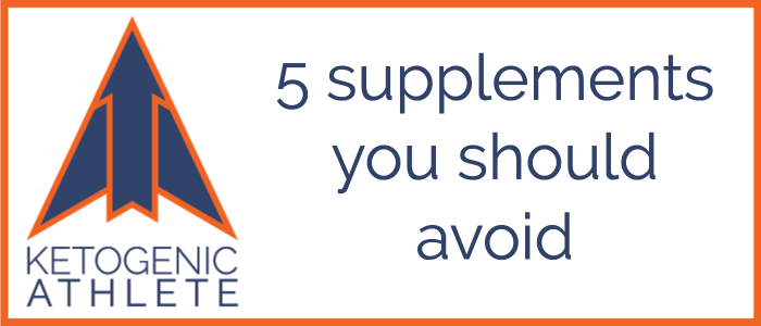 5 Supplements You Should Avoid