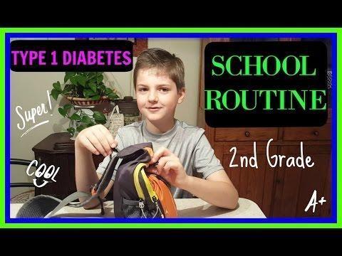 Diabetes Type 1 Daily Routine