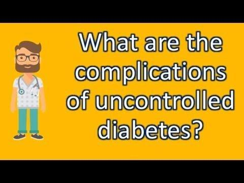 When Diabetes Is Uncontrolled