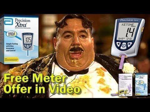 Precision Xtra Glucose+ketone Meter