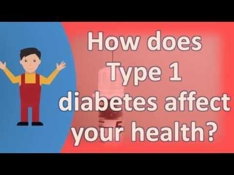 Long Term Effects Of Diabetes Type 1