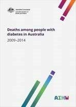 Deaths Among People With Diabetes In Australia, 20092014