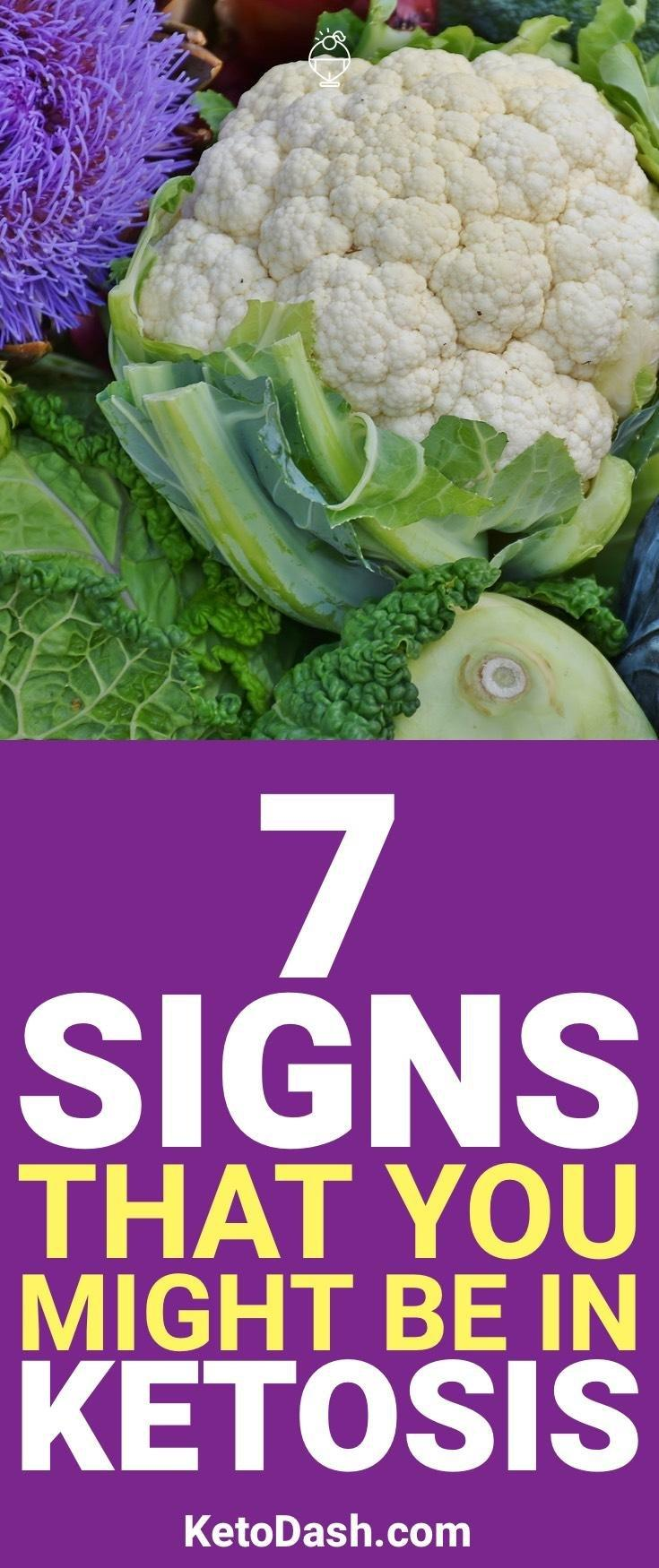 7 Signs You Might Be In Ketosis When Doing The Ketogenic Diet